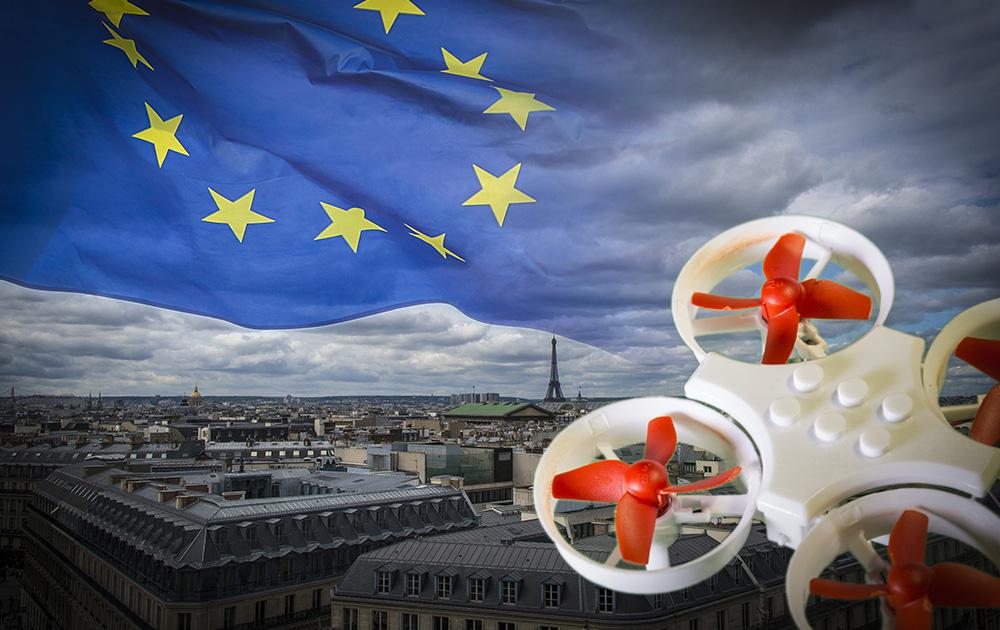 La règlementation européenne introduit de nouvelles règles pour les télépilotes de drone.  (photo Adobe Stock)