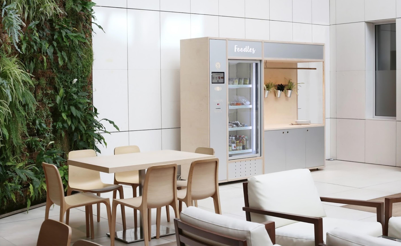 Une cuisine connectée a été installée pour les agents municipaux d'Orly (source : Foodles)