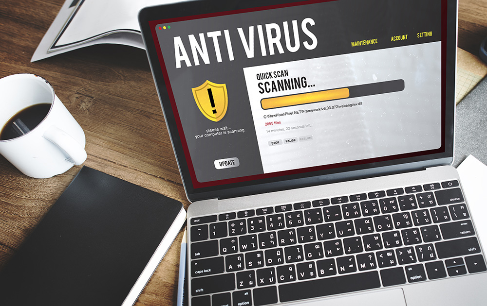 Un bon antivirus capable de détecter spywares et malware, est l'une des premières précautions à prendre pour éviter de se faire espionner et peut-être rançonné (Photo Adobe Stock)