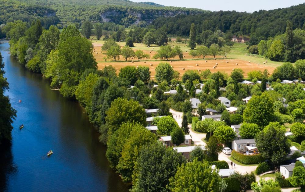 Le camping Le Paradis à Saint Léon sur Vézère (Dordogne) (photo site camping le Paradis)