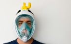 #Coronavirus : En Italie, des masques de plongée transformés en respirateurs