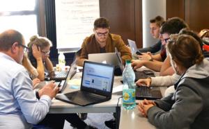 Hyblab, un challenge pour des étudiants aux compétences différentes.