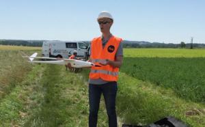 RTE teste un drone civil pour l'inspection des lignes électriques