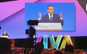 Vivatech, le salon des startups encouragé par le Président Macron