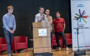 les jeunes entreprises Eïsox et Kocliko lauréates du projet Energie et Territoire Connectés à Angers