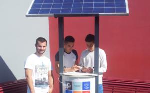 Sunplugg, le chargeur solaire de Grolleau, entre au lycée