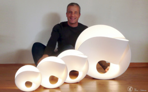 Le designer Pierre Cabrera signe les capteurs Senlab© Indoor de Sensing Labs