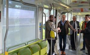 Innovation : De la réalité augmentée et contextualisée dans le tram d'Angers