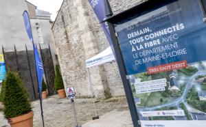 En Maine-et-Loire, tous les foyers seront raccordés à la fibre optique en 2022