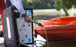 Une startup de Toulouse propose une valise pour filtrer l'eau impropre