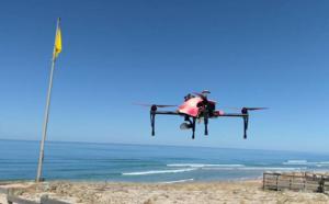 Un drone pour les premiers secours à la plage