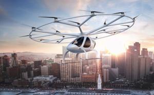 Le taxi aérien Volocopter va voler au-dessus de Singapour en 2019