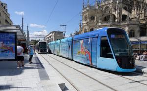 Mobilité : à Caen la mer, un tramway fer remplace l'ancien sur pneus