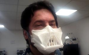 #Coronavirus : A Angers, Exprezis mobilise son réseau 3D pour fabriquer des masques réutilisables