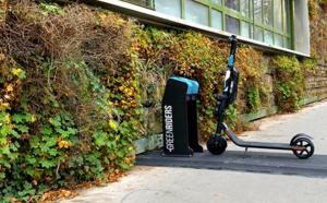 Avec Green Riders la trottinette électrique devient dockable