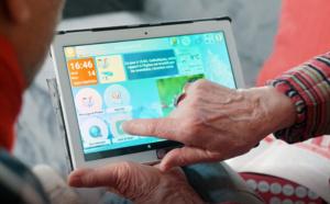 Confinement : Des tablettes qui permettent aux seniors et leurs proches de ne pas perdre le contact