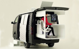 Caravan NV350 Office Pod Concept, le télétravail itinérant selon Nissan