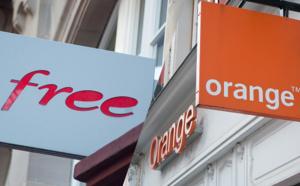 Téléphonie mobile 5G, le torchon brule entre Orange et Free