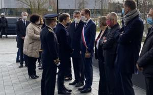 Le Président Macron salue l'excellence du Pôle d'innovation de Paris Saclay