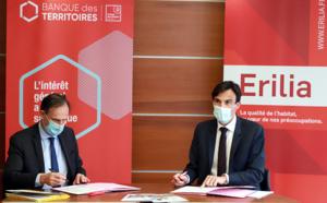 Habitat social : Erilia signe une convention avec la Banque des Territoires pour rendre le logement accessible au plus grand nombre