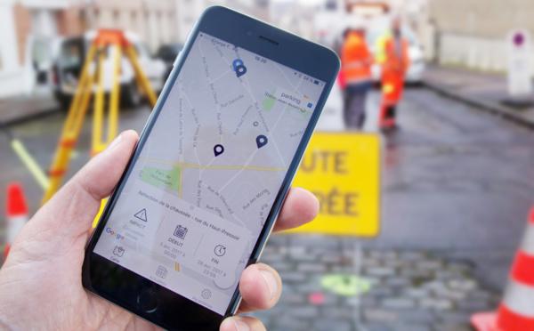 Angers « Info Travaux », l'appli indispensable de Playmoweb