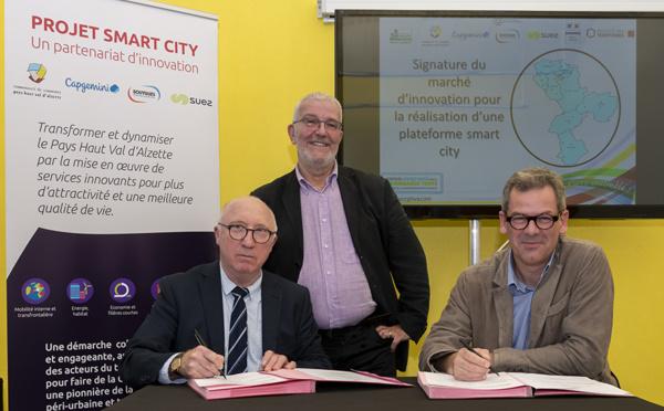 Une plateforme «Smart City», pour les collectivités du Grand Est