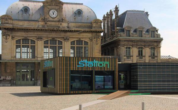 La Station : une gare transformée en espace digital pour le pays de Saint-Omer