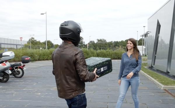 « The Box », la boite écologique et connectée qui veut mettre fin aux cartons d'emballage