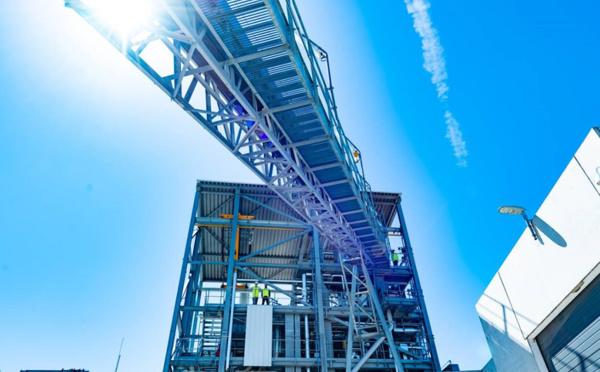 Première mondiale : ENGIE produit du gaz renouvelable à partir de déchets solides non recyclables