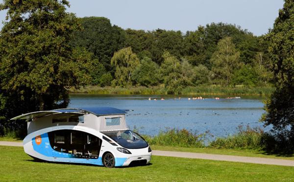 Des étudiants néerlandais conçoivent un camping-car solaire zéro émission